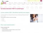 Page présentation du site Internet TyKdoz, chèques cadeaux à Vannes dans le Morbihan 56