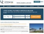 Page location du site Internet Utilitaires Concept à Vannes dans le Morbihan 56