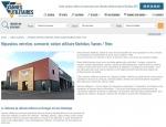 Page de contenu du site Internet Vannes-utilitaires à Vannes dans le Morbihan 56