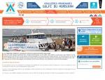 Page compagnie du site Internet Vedettes l'Angelus à Vannes dans le Morbihan 56