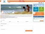 Page contact groupes du site Internet Vedettes l'Angelus à Vannes dans le Morbihan 56