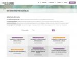 Page formations du site Internet l'Atelier des Pratiques à Vannes dans le Morbihan 56
