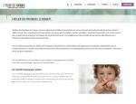 Page de contenu du site Internet l'Atelier des Pratiques à Vannes dans le Morbihan 56