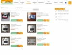 Page boutique du site Internet LYA Nautic à Vannes dans le Morbihan 56