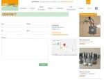 Page contact du site Internet LYA Nautic à Vannes dans le Morbihan 56