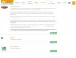 Page partenaires du site Internet LYA Nautic à Vannes dans le Morbihan 56