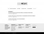 Page contact projet du site Internet Pleine Mesure à Vannes dans le Morbihan 56