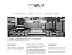 Page de contenu du site Internet Pleine Mesure à Vannes dans le Morbihan 56