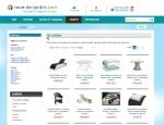 Page produits du site Internet Rêve de jardin à Vannes dans le Morbihan 56