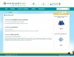 Page de contenu du site Internet Rêve de jardin à Vannes dans le Morbihan 56