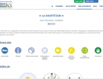Page qui présente les services + de la société E2M