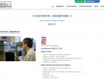 Page détaillant un métier de la société E2M