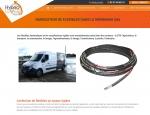 Page d'accueil du site Internet Hydro Levage à Vannes dans le Morbihan 56