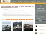 Page Réalisations du site Internet Kornog à Vannes dans le Morbihan 56