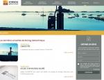 Page Actualités  du site Internet Kornog à Vannes dans le Morbihan 56