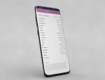 Listing et résumés dans l'application Android FlexiFarm Mobile