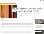 Article du site Internet / blog Bois-composite.fr