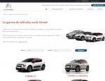 Gamme de véhicules du site internet Citroën Locminé Moréac