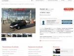 Fiche véhicule du site internet Citroën Locminé Moréac