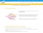 Page de contenu du site Internet Devenir Enseignant