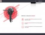 Page d'accueil du site Internet HB Protec