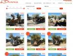 Catalogue en ligne du site Internet L'Oliveraie