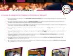 Contenus du site Internet Voie Pro