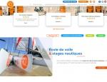Présentation des catégories d'activités du site Internet 47 Nautik - Création de site Internet Morbihan 56