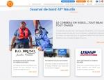 Page d'accueil - Actualités du site Internet 47 Nautik - Création de site Internet Morbihan 56