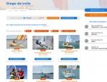 Présentation des stages de voile du site Internet 47 Nautik - Création de site Internet Morbihan 56