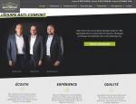 Page d'accueil site web Bati Confort - Agence web Grouplive à Vannes et Lorient