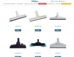 Liste produits de la boutique e-commerce Duovac - Création de sites : Grouplive à Vannes et Lorient
