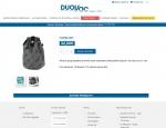 Page produit de la boutique en ligne responsive Duovac - Création de sites : Grouplive à Vannes et Lorient