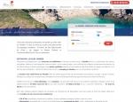 Page destination de la boutique de réservation en ligne responsive Plein Air Locations - Création du site agence web Grouplive à Vannes et Lorient