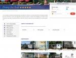Page camping de la boutique de réservation de mobilhome en ligne Plein Air Locations - Création du site agence web Grouplive à Vannes et Lorient