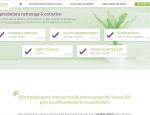 Page service du site Internet Clin d'œil propreté