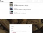 Page d'actualité du site Internet du Bureau du vin Morbihan (56)
