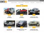 Page qui liste les véhicules RTS Location