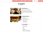 Page actualité Site Internet Valentino !