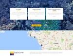 Page d'accueil du site Internet Atlantique Location