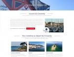 Page de contenu du site Internet Atlantique Location