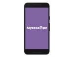 Splash screen mobile de l'application Android Mycoscope