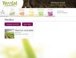 Contenus Terrial, web application mobile