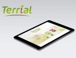 Terrial, web application mobile sur tablette