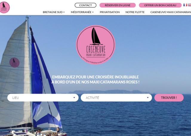 Page d'accueil Caseneuve Maxi Catamaran