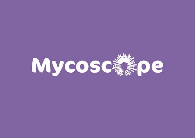 Splash screen de l'application Android Mycoscope