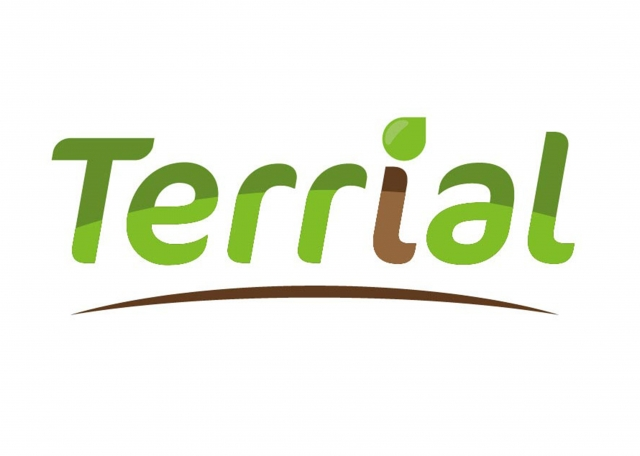 Terrial, web application mobile logo